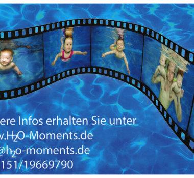 Babyschwimmen Fotoshooting